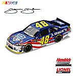 Memorial Day is not only a great time for home improvement projects, it???s a time for us to remember and honor our troops and their families! And that is exactly how NASCAR® driver Jimmie Johnson celebrates Memorial Day weekend 2011 at Charlotte Motor Speedway. A proud salute to summer, and our dedicated men and women in uniform, Jimmie Johnson???s Lowe???s® Chevy Impala comes to life in this dynamic collectible Jimmie Johnson diecast car, available from Motorsport Editions™.Licensed by NASCAR® and Hendrick Motorsports, this precision-engineered Jimmie Johnson collectible diecast car is loaded with authentic details and features an opening hood and trunk, manufacturer-specific engine detailing, accurate head contour and simulated exhaust openings. Crafted with over 100 individual parts, it even has a special DIN™ (Diecast Identification Number) visible through the back windshield, for authenticity and registration of your prized collectible. Don't miss this stirring tribute to our dedicated military troops, care of Jimmie Johnson and his No. 48. Strong demand is expected, so order now!