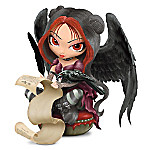Jasmine Becket-Griffith Once Upon A Midnight Dreary Gothic Fairy Figurine