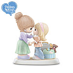 """Precious Moments """"Together Or Apart, You're Always Part Of Me"""" Figurine"""