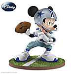 The Dallas Cowboys Quarterback Hero Mickey Mouse Figurine