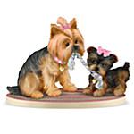 You Tug On My Heartstrings Yorkshire Terrier Figurine