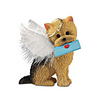 Yorkie Angel Messenger Figurine