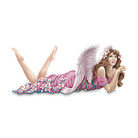 A Little Hope Each Day Keeps The Worry Away Angel Figurine