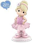 Precious Moments Granddaughter, You Are Tutu Cute Figurine: Granddaughter Ballerina Figurine
