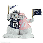 NFL Dallas Cowboys Snowman Figurine: Snow Man Like My Fan