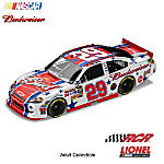 NASCAR Collectibles Kevin Harvick No. 29 Budweiser July 4, 2011 NASCAR Sprint Cup Series Diecast Car