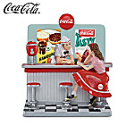 """""""Have A Coke"""" Figurine Commemorating The All-American Diner And Coca-Cola"""
