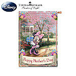 Disney Thomas Kinkade Happy Mother's Day Flag