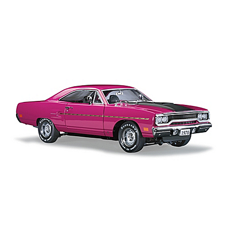 1970 Plymouth Road Runner Hemi 1:24 Scale Diecast Car