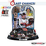 NASCAR Collectibles Dale Earnhardt NASCAR Hall Of Fame Trophy Sculpture