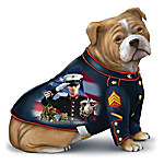 Bulldog USMC Mascot Figurine by James Griffin