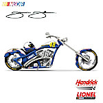 NASCAR Collectibles NASCAR Jimmie Johnson 2010 Championship Cruiser Motorcycle Figurine
