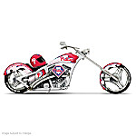 MLB Philadelphia Phillies Motorcycle Figurine: Home Run Racer