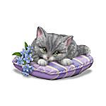 Alzheimer's Support Kitten Figurine