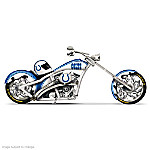 NFL Indianapolis Colts Motorcycle Figurine: Colts Cruiser