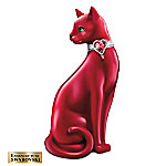 WomenHeart Support Cat Figurine: A Purr-pose Filled Heart