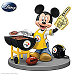 Disney Mickey Mouse Figurine: Pittsburgh Steelers Fired Up For A Win