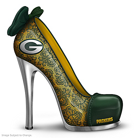 Green Bay Packers High Heel Shoes