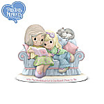 Precious Moments Figurine: With My Granddaughter Is The Nicest Place To Be