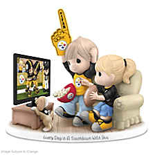 Every Day Is A Touchdown With You Steelers Figurine