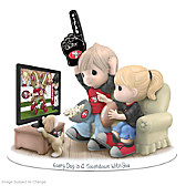 Every Day Is A Touchdown With You 49ers Figurine