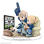 Figurine: Precious Moments Every Day Is A Touchdown With You Cowboys Figurine