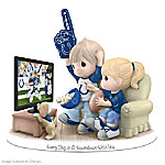 Figurine: Precious Moments Every Day Is A Touchdown With You Colts Figurine