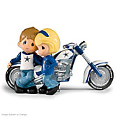 Precious Moments Cruising To Victory Cowboys Figurine