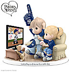 Precious Moments Collectibles Figurine: Precious Moments Every Day Is A Home Run With You New York Yankees Figurine