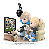 Every Day Is A Touchdown With You Panthers Figurine