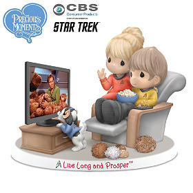 Precious Moments Live Long And Prosper Figurine