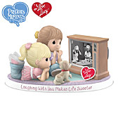 Laughing With You Makes Life Sweeter Figurine