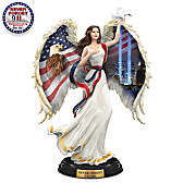 America's Sacred Guardian Angel Figurine