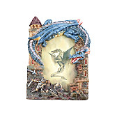 Blue Dragon Picture Frame