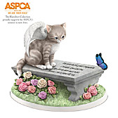 Cats Leave Paw Prints On Our Hearts Figurine