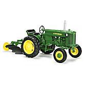 "1:16 John Deere ""M"" Narrow Front With Plow Diecast Tractor"