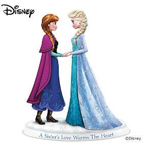 Disney A Sister's Love Warms The Heart Figurine
