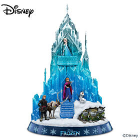 Ice Palace Of Elsa, The Snow Queen Of Arendelle Sculpture