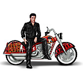 Elvis Presley's Riding With The King Sculpture