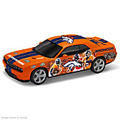 Denver Broncos Power & Pride Collage Car Sculpture