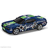 Seattle Seahawks Power & Pride Collage Car Sculpture