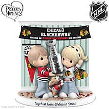 Together We're A Winning Team Blackhawks® Figurine