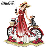 A Refreshing Promenade By COCA-COLA Figurine