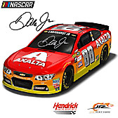 Dale Earnhardt Jr. #88 Axalta 2016 NASCAR Race Car Sculpture