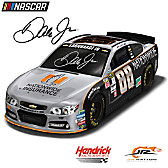 Dale Earnhardt Jr. #88 Gray Ghost 2016 Race Car Sculpture