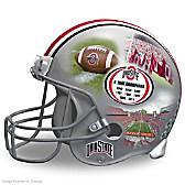Ohio State Buckeyes Collage Helmet Sculpture