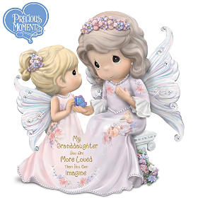 Granddaughter You Are Loved More Than Can Imagine Figurine
