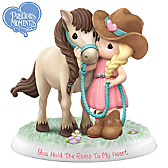 You Hold The Reins To My Heart Figurine Collection