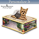 My Forever Friend Personalized Yorkie Keepsake Box