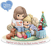 Together With You Is The Best Holiday Tradition Figurine